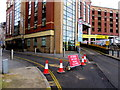 ST3188 : High Street closed to traffic, Newport by Jaggery