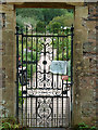 SS9615 : Knightshayes Court - entrance to the walled garden by Chris Allen