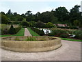 SS9615 : Knightshayes Court - walled garden by Chris Allen