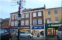 TL4196 : Shops on Broad Street, March by David Howard
