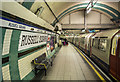 TQ3082 : Platform, Russell Square Underground Station by Rossographer