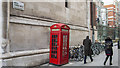 TQ3181 : Telephone call box, London by Rossographer
