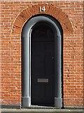 SP0687 : Door on Regent Place by Philip Halling