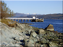 NS1981 : Blairmore Pier by Thomas Nugent