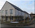 TL4454 : Trumpington: building new council houses by John Sutton
