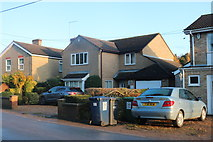 TL3778 : Houses on Chatteris Road, Somersham by David Howard