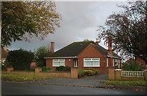 TL4194 : Bungalow on Wimblington Road, March by David Howard