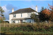TL2865 : House on Potton Road, Hilton by David Howard