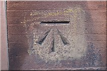 NZ2465 : Cut Bench Mark, Claremont Buildings by Mark Anderson