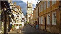 SP0202 : Black Jack Street, Cirencester by Robin Drayton