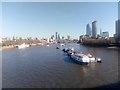 TQ3080 : View downstream off Waterloo Bridge by Christopher Hilton