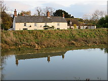 TL4279 : The Anchor Inn at Sutton Gault - The Ouse Washes by Richard Humphrey