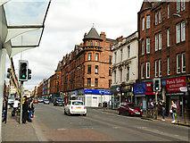 NS5566 : Dumbarton Road, Partick by Stephen Craven