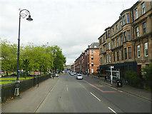 NS5666 : Argyle Street, outside Kelvingrove Museum by Stephen Craven
