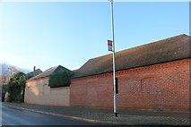 TL3674 : Rear of houses on East Street, Bluntisham by David Howard