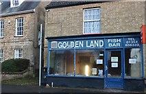 TL4196 : Golden Land fish bar on High Street, March by David Howard