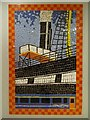 ST5972 : Mosaic of the SS Great Britain by Philip Halling