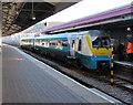 SS6593 : Manchester Piccadilly train at platform 4, Swansea station by Jaggery