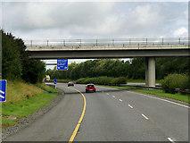 R6557 : Bridge over the M7 near Annacotty by David Dixon