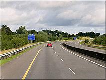 R6659 : Northbound M7, County Limerick by David Dixon