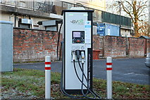 NS6113 : Electric Vehicle Charging Point, New Cumnock by Billy McCrorie