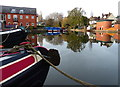 SP7287 : Union Wharf at Market Harborough by Mat Fascione
