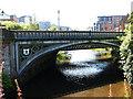 NS5666 : Partick Bridge, Dumbarton Road by Stephen Craven