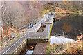 NN1960 : Dam on the Allt Coire Mhorair by Jim Barton