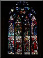 SO8540 : Stained glass window, Upton upoon Severn church by Philip Halling