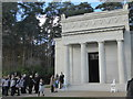 SU9456 : The American chapel at Brookwood Military Cemetery by Marathon