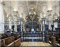 SK3536 : Derby Cathedral - Screen by John Salmon