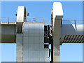 NS8580 : Falkirk Wheel - hydraulics, side view by Stephen Craven