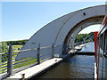 NS8580 : Falkirk Wheel - hydraulics, end view by Stephen Craven