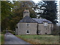 NJ7507 : Engineer's house, Dunecht estate. by Bill Harrison