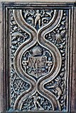 TQ1711 : Steyning, St. Andrew and St. Cuthman Church: Beautifully carved Tudor screen (1522) 4 by Michael Garlick