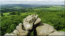 SE2065 : Brimham Rocks NT near Summerbridge - Lover's Leap by Colin Park