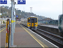 W6872 : Platform 2 arrival, Kent station, Cork by Robin Webster