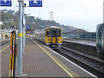 W6872 : Platform 2 arrival, Kent station, Cork by Robin Webster