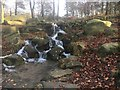 SK2680 : Small waterfall on the Longshaw Estate by Graham Hogg