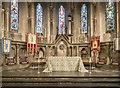 SK3435 : St Luke, California, Derby - Sanctuary by John Salmon