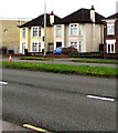 ST1580 : Two detached houses, Whitchurch, Cardiff by Jaggery