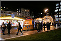 SJ8498 : Manchester Christmas Market - Piccadilly Gardens by David Dixon