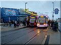 SD3033 : Two Trams at Pleasure Beach by David Dixon