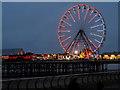 SD3035 : Ferris Wheel on Central Pier by David Dixon
