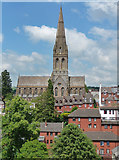SX9192 : St Michael, Dinham Road, Exeter by Stephen Richards
