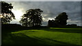 SD5292 : Evening light Kendal Castle (within grounds) by Colin Park