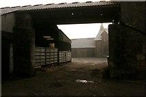 NS6378 : Entrance to Bencloich Farm by Richard Sutcliffe