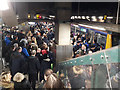 SJ8499 : Rush-hour crowds at Manchester Victoria station by Stephen Craven