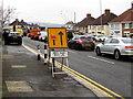 ST3090 : A4051 lane closed 200 yards ahead, Malpas, Newport by Jaggery