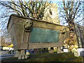 TQ3789 : The tomb of Isaac Solly, St Mary's Churchyard by Marathon